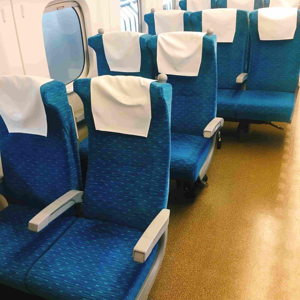 新幹線の車いす席