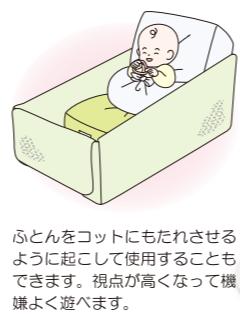 天使の寝床をイスとして使用